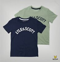 Boys Lyle And Scott Rib Crew Neck Short Sleeve T Shirt Sizes Age from 3 to 7 Yrs
