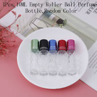 10 ML Clear Glass Roll On Bottles Empty Essential Oil Perfume Lip Balms BottleBB