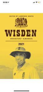 Wisden Cricketers' Almanack 2021 (Hardcover, 2021)