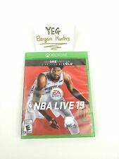 NBA Live 19 (Xbox One, 2018) Complete Tested Canadian Seller