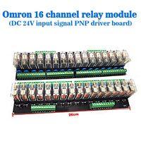16 Relay Module Sixteenth Street Dashboard Driver Board Module DC 24V PNP