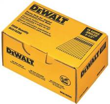 New listing< 00002000 /span> Dewalt Dca16250 2-1/2 Inch 16 Gauge Angled Finish Nail 20 Degree 2500/Box Brand
