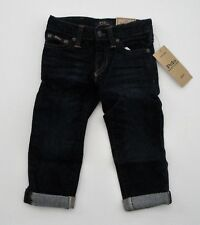 NWT Ralph Lauren Toddler Boys Eldrige Stretch Skinny Jean Sz 2/2t 24m NEW $45