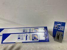 "3 Pcs.-Lenox PVC Saw Blades Set (1)18"",(1) 12"" & (1) Flush Cutting Blade Adaptor"