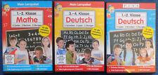 3 Lernpaket: Deutsch 1-2 Klass;3-4 Klasse + Mathe 1-2 Klasse Grundschule
