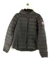1830C NEW Canada Goose Graphite/Black Brookvale Packable Hooded Jacket Women's L