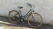 Vélo Vintage Marque française Vicking, femme, couleur noir,Parfait état .