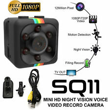 Mini Micro SQ11 HD Camera 32GB 1080P Video USB DVR Recording IR Night Vision HOT