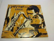 "Jazz Time USA No.1.. Coral 10 "" Terry Gibbs Ori. 1954  Vinyl/Cover:good"