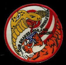USMC HMLA-169 HMM-262 Our Snakes Your Pussies Patch K-3