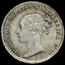 More details for 1871 queen victoria young head silver maundy penny