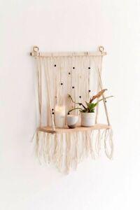 Urban Outfittes Rosalie Macrame Hanging Shelf-$49 MSRP