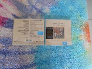 PAUL SIMON - Graceland 25th Anniversary CD + DVD 2012 Legacy