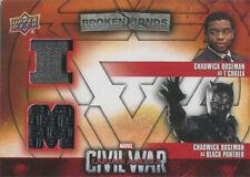 Captain America Civil War Costume Card BBI-BP Chadwick Boseman as T'Challa