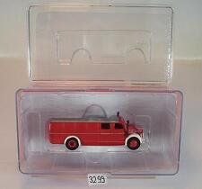 Brekina 1/87 Magirus S 3500 Omnibus TLF 15/50 Feuerwehr OVP #3299