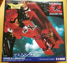 Corgi Aviation 1/48 German Fokker Dr.1 Triplane Fighter 'Red Baron' (AA38308)