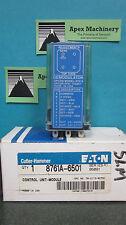 NIB Cutler Hammer Eaton 8761A-6501 Control Unit Module 8761A