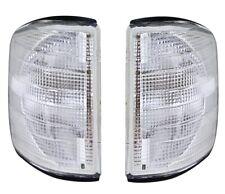 Frontblinker Set in Weiß für MERCEDES W201 190 E weiße Blinker Paar