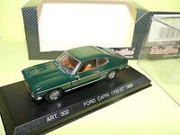 FORD CAPRI 1700 GT 1969 Vert DETAILCARS 302 1:43