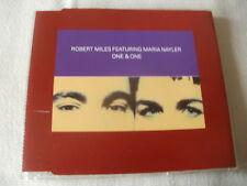 ROBERT MILES / MARIA NAYLER - ONE & ONE - UK CD SINGLE