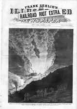 Baltimore & Ohio Railroad Strike  -  Railroad Riot Extra Supplement  - 1877