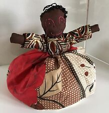 Vtg Handmade Doll Topsy Turvy Black White Rag Doll Rags Turvey Primitive