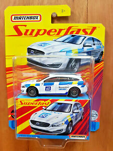 MATCHBOX SUPERFAST 2020 (Mix D) ~ #05 VOLVO V60 WAGON #60 ~ From the box