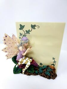 """Pixie Fairy """"Bye Bye Butterfly"""" Notepad holder Figurine Ornament Nemesis Now"""