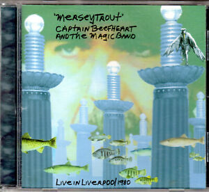 CAPTAIN BEEFHEART & THE MAGIC BAND - Live in Liverpool 1980 - CD