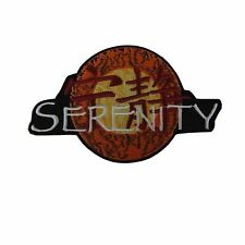 """Firefly Serenity Episode Logo 4 1/2"""" Wide Embroidered Iron on Patch"""