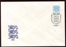 "Estonia 1992 ""A"" State Arms Definitive FDC #C11934"