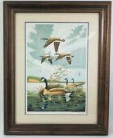 Wild Cry of Morning Signed Lithograph Print Larry Toschik Franklin Mint Framed