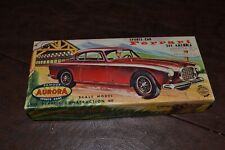 FERRARI 342 AMERICA 1952 AURORA plastic model kit in box some parts missing