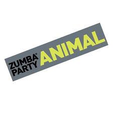 "Zumba Dance Fitness ""Zumba Party Animal"" Bumper Sticker - Colorful Fun Gift Idea"