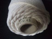 1kg Rolle Kerzen Docht (750m Spule) Runddocht Nr.4  NUR 8 Cent pro Meter