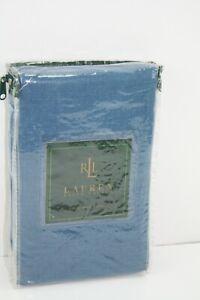 Ralph Lauren The Landing DENIM Blue Standard/Queen Pillow SHAM Blue Jeans NEW