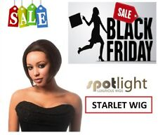 STARLET WIG 100% Human Hair by Sleek Swiss Net Lace Front - BLACK FRIDAY DEAL