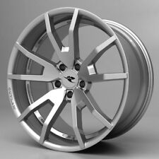 """2015 2016 2017 Mustang CDC Outlaw Wheel Set Silver 20"""" s550 Flow Forged wheels"""
