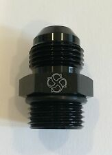 X812 -10AN Flare to -12 ORB O Ring Boss Adapter AN Fitting ORB BLACK