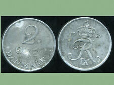 DANEMARK   2 ore 1962   ZINC  ( bis )