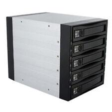 3-bay to 5-hard drive Hot-Swap SATA-II SAS Backplane 3Gbps RAID 0/1/5 Aluminum
