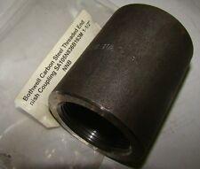 "1pc. Bothwell SA105N836B163M 1-1/2"" Threaded Carbon Steel Coupling, New"