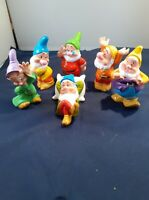 Walt Disney Six 6 Dwarfs Figurines  R6576