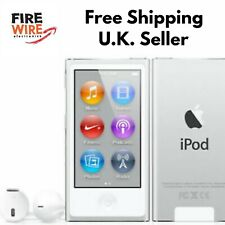 Latest Apple iPod Nano 7th Generation Silver  A1446 Model 16GB Cable Bundle