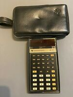 Vintage Texas Instruments SR-50A Slide Rule Calculator AND CASE, UNTESTED AS IS