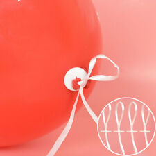 50pcs Balloon Clip Ties And Balloon Ribbon For Balloons For Birthday Parties