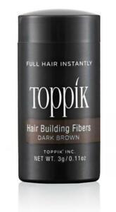 TOPPIK 3g. Haarfasern Haarverdichter Streuhaar Schütthaar Hair Fiber Microhairs
