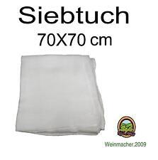 Siebtuch 70 X 70 cm Durchseihtuch Küchentuch Obstpresse Haushalt Käsetuch Tuch.