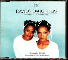 DAVIDS DAUGHTERS - DREAMING OF LOVING YOU - FRENCH 4 TRACKS CD MAXI [992]