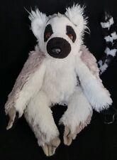 "Wild Republic Plush Lemur Black White Stuffed Animal Soft Toy Doll 8"""